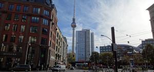 Berlin - Blick auf den Fernsehturm