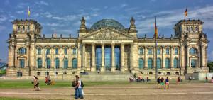 Berlin - Blick auf den Reichstag